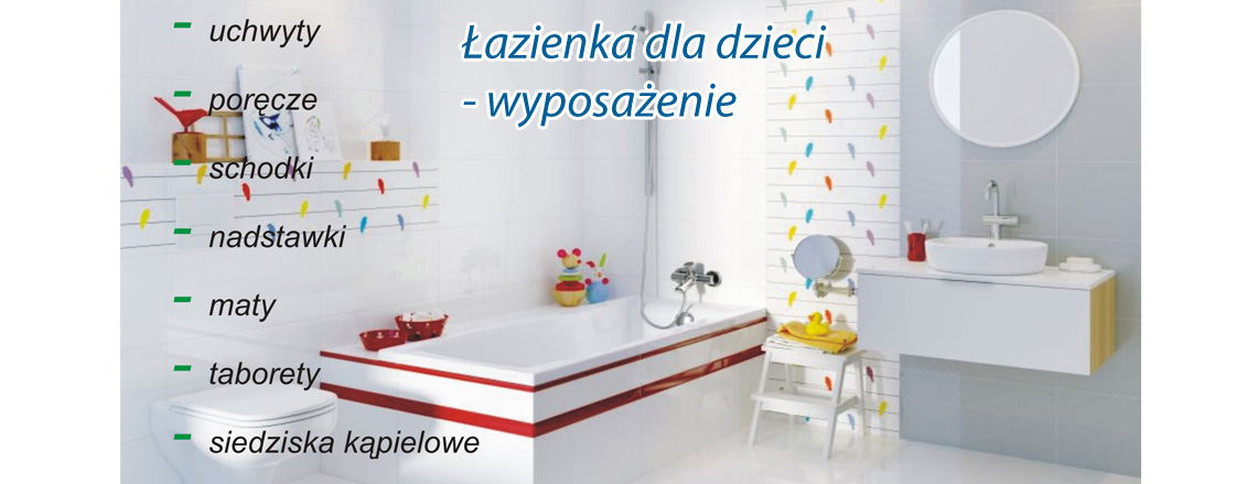 Wyposażenie łazienki Dla Niepełnosprawnych Uchwyty I
